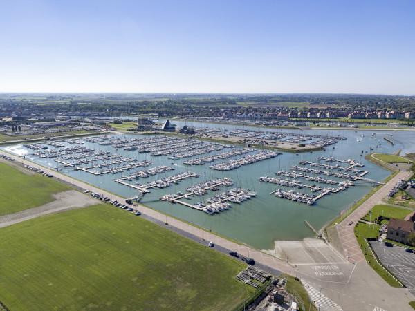 Jachthaven in Nieuwpoort