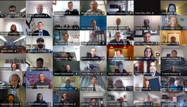 Internationaal en digitaal vergaderen over Vessel Traffic Services