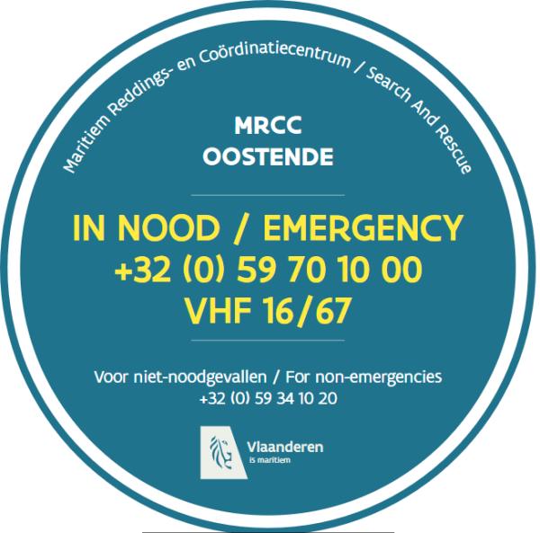 Afbeelding van het noodnummer van het MRCC